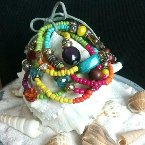 n/a Jewelry - Colorful Bracelet Set